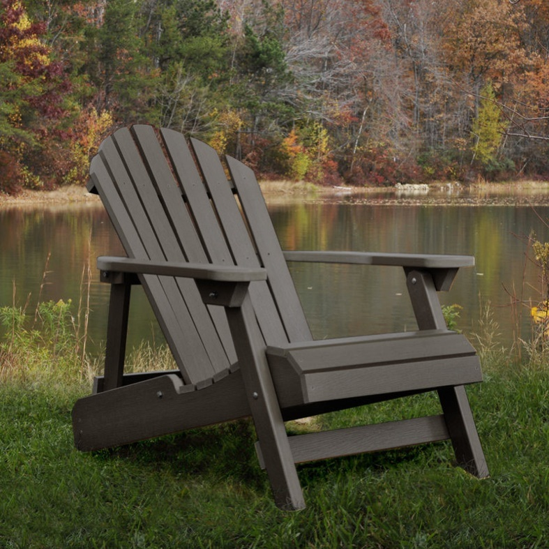 highwood adirondack outdoor chair patio furniture x2 on pops