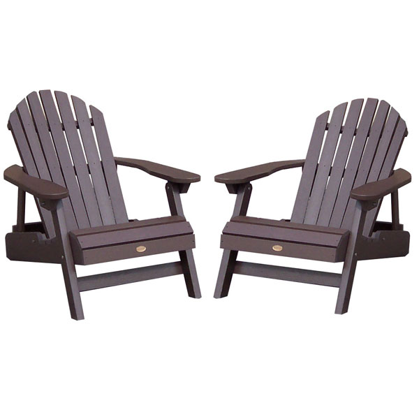 SpGuyUSA - Highwood Adirondack Chair in Acorn
