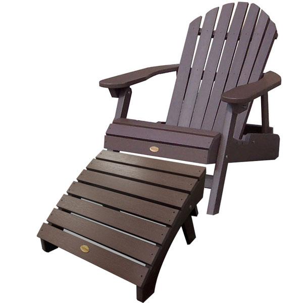 SpGuyUSA   Highwood Adirondack Chair U0026 Ottoman Combo